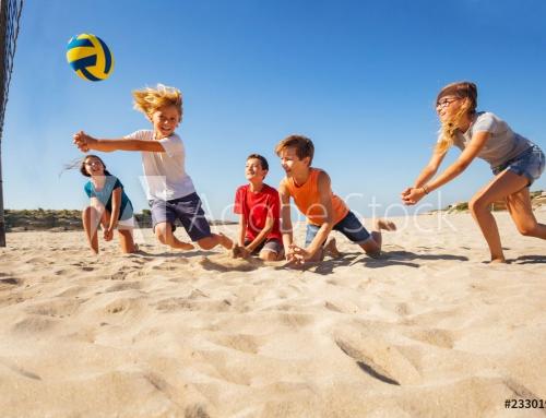 Projekt Beachvolleyballplatz